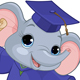 Elephant Graduates - GraphicRiver Item for Sale
