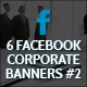 Facebook Corporate Banners - GraphicRiver Item for Sale