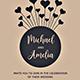 Simple Wedding Invitation - GraphicRiver Item for Sale