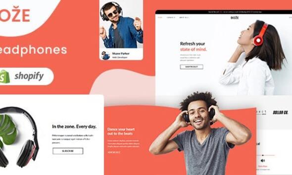Boze - Shopify Single Product Store