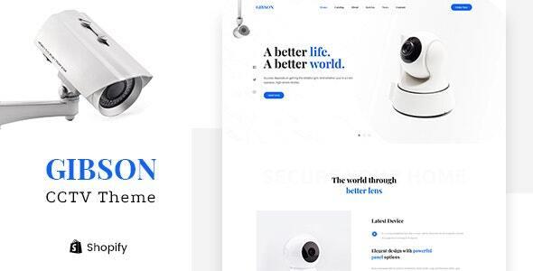 Gibson - Single Product Shop Shopify Theme
