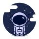 Astronaut logo template - GraphicRiver Item for Sale