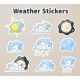 Colored Weather Stickers - GraphicRiver Item for Sale