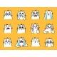 Sad Cats Emoji - GraphicRiver Item for Sale