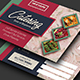 Catering Postcard - GraphicRiver Item for Sale