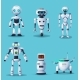 Future Robots and Androids Cartoon Characters - GraphicRiver Item for Sale