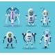 Alien Robots Future Scifi Androids Characters - GraphicRiver Item for Sale