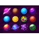 Fantasy Planets Alien Worlds in Space Vector Set - GraphicRiver Item for Sale