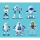 Robot and Android Bot Characters Ai Intelligence - GraphicRiver Item for Sale