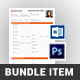 Registration Form Bundle - GraphicRiver Item for Sale