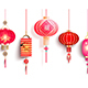 Collection of Chinese Lantern - GraphicRiver Item for Sale