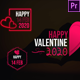 Valentine Clean Titles - VideoHive Item for Sale