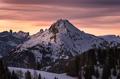 Mountain Sunset - PhotoDune Item for Sale