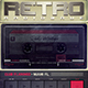 Retrowave Flyer 1980s Music Radio Synthwave - GraphicRiver Item for Sale