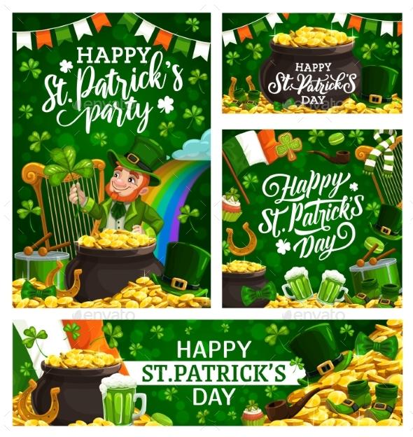 Ireland National Religious Holiday Patricks Day