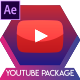 Youtube Subscribe Button Clean 4K - VideoHive Item for Sale
