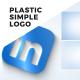 Plastic Simple Logo - VideoHive Item for Sale