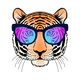 Tiger with Sunglasses - GraphicRiver Item for Sale