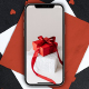 iPhone 12 PSD Mockups with Paper Hearts - GraphicRiver Item for Sale
