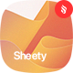 Sheety - Wavy Shape Backgrounds - GraphicRiver Item for Sale