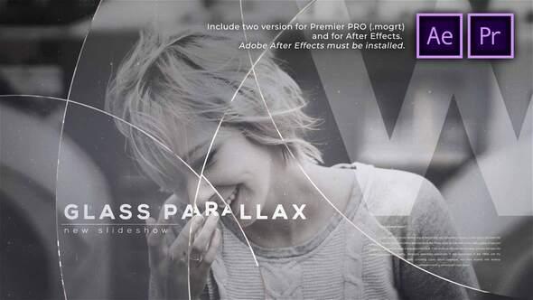 Glass Circles Parallax Slideshow