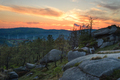 Sunset over the boulders hills of the Xistral - PhotoDune Item for Sale