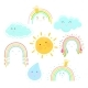 Collection with Sun Clouds Rainbows Water Drop - GraphicRiver Item for Sale