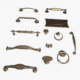 Furniture Handles Pack - 3DOcean Item for Sale