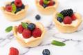 Mini fruit cream cheese tart - PhotoDune Item for Sale