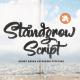Standgrow - Script Font - GraphicRiver Item for Sale