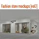 Fashion store mockups [vol3] - GraphicRiver Item for Sale