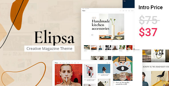 Elipsa – Creative Magazine Theme