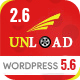 Unload - Cargo, Shipping, Logistics, Trucking, Warehouse & Transport WordPress Theme - ThemeForest Item for Sale