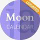 Moon Calendar 2021 PowerPoint Presentation Template - GraphicRiver Item for Sale