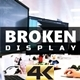 Broken Display 4K - VideoHive Item for Sale