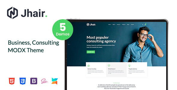 Jhair - Business, Consulting MODX Theme