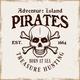 Pirate Skull and Crossed Bones Vector Emblem - GraphicRiver Item for Sale