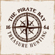 Pirates Vector Emblem with Compass Wind Rose - GraphicRiver Item for Sale