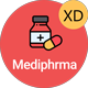 Mediphrma - Online Pharmacy Store Android & IOS UI Kit - ThemeForest Item for Sale