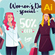 Women Sales Social Media Template - GraphicRiver Item for Sale