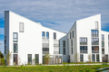 White modern townhouses - PhotoDune Item for Sale