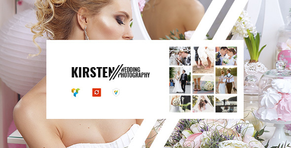 Kirsten - Clean Wedding Photography Theme