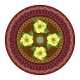 Decorative Plate with Round Ornament in Ethnic - GraphicRiver Item for Sale
