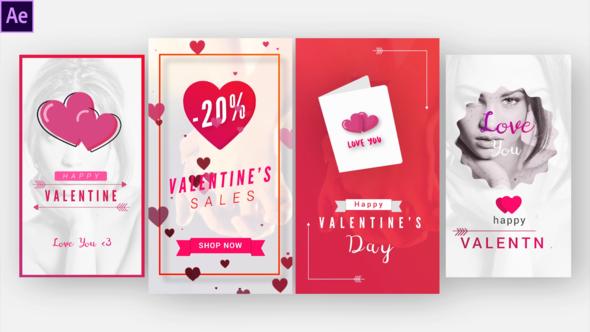 Instagram Valentine Stories