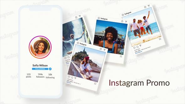 Short Instagram Profile Promo