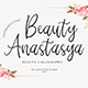 Beauty Anastasya - Calligraphy Fonts - GraphicRiver Item for Sale