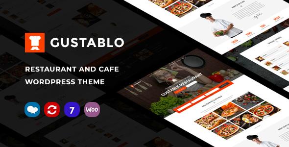 Gustablo | Restaurant & Cafe Responsive WordPress Theme
