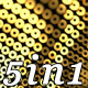 Golden Pattern (5in1) - VideoHive Item for Sale