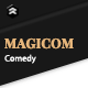Magicom - Magician & Comedian Club Elementor Template Kit - ThemeForest Item for Sale