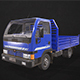 Light Truck Tipper - Low Poly - 3DOcean Item for Sale